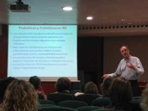 Profesor Guarner conferencia Colon Irritable